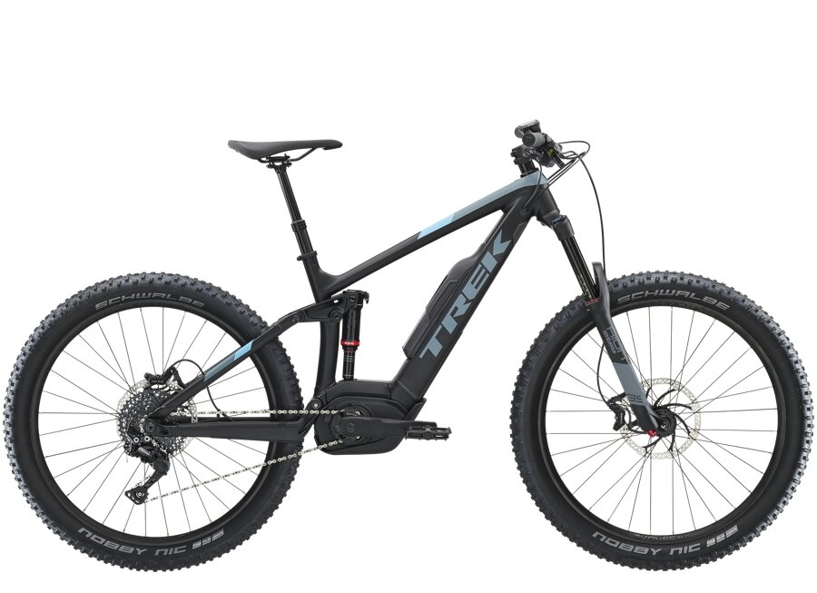Trek Powerfly LT 4 Plus L Matte Trek Black