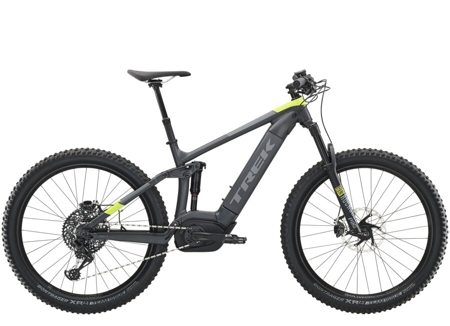 Trek Powerfly FS 9 Plus L Matte Solid Charcoal