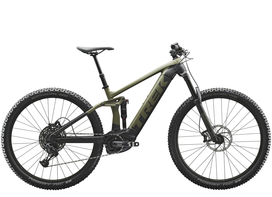 Trek Rail 5 L Matte Olive Grey/Trek Black