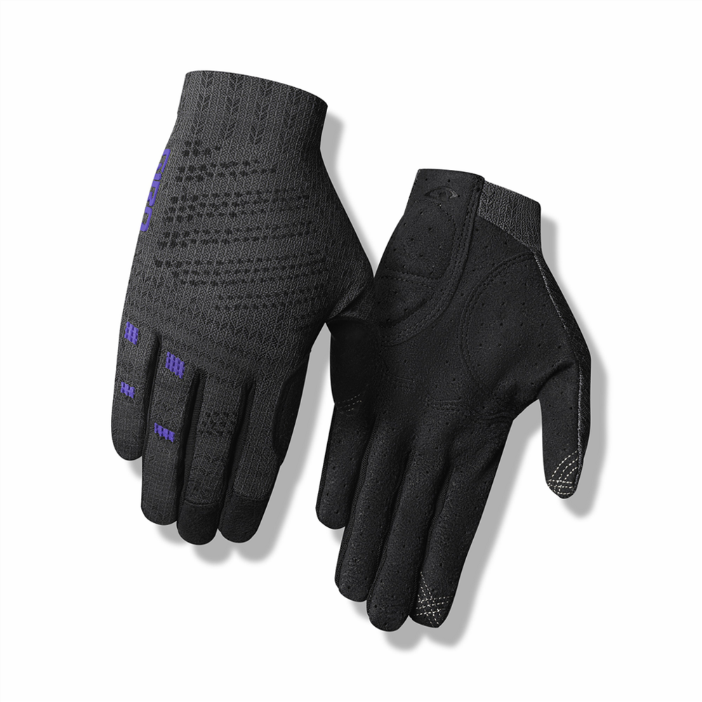 Giro Xnetic W Trail Glove L titanium/electric purple