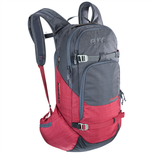 Evoc Line R.A.S. 20l Backpack one size heather carb grey/heather ruby