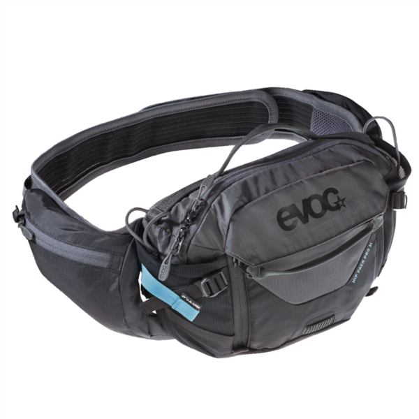 Evoc Hip Pack Pro 3L one size black/carbon grey