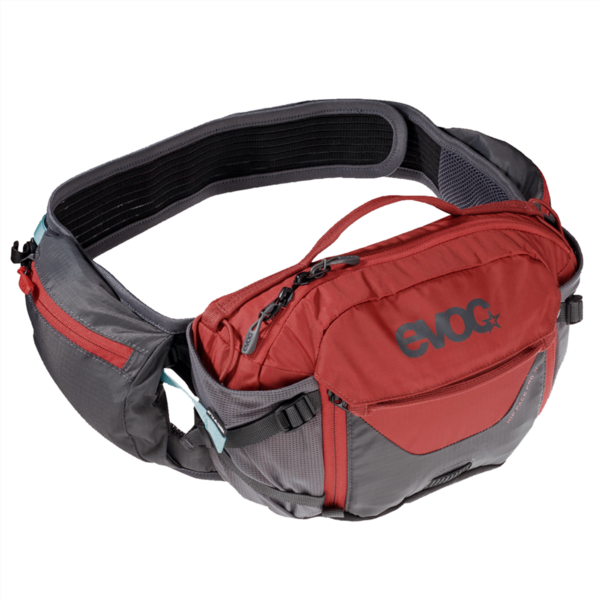 Evoc Hip Pack Pro 3L one size carbon grey/chili red